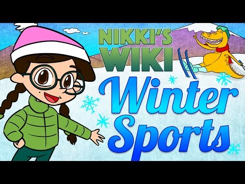 All About Winter Sports | Skiing, Ice Skating, Sledding & More | Wiki for Kids at Cool School