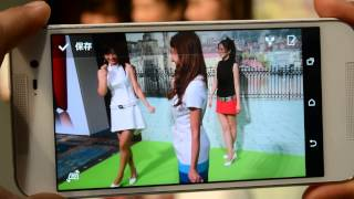 HTC J butterfly HTL23 DUO CAMERA 「3次元効果」