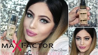 NEW! Max Factor MIRACLE MATCH Foundation DEMO⎪REVIEW ♡ - Smashing Darling x