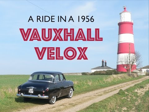 Jimbo does a ride in a 1956 Vauxhall Velox!!