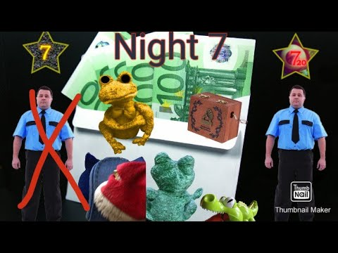 """Five nights with Froggy v4.0 UPDATE - Night 7 """"THOMAS DIED IN A CAR CRASH BECAUSE OF THE VANDALS!?""""  """