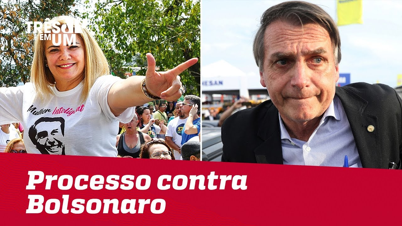 Reportagem mostra processo contra Bolsonaro