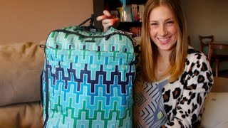 How To Pack A Carry-On Luggage & Jonathan Adler x Tumi Luggage Review! Thumbnail