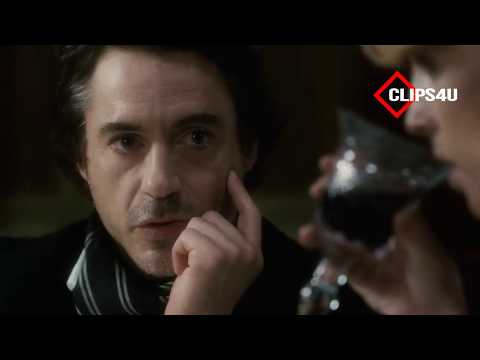 SHERLOCK HOLMES DEDUCTION SCENE WITH MARY AND JOHN FROM SHERLOCK HOLME ROBERT DOWNEY JR.