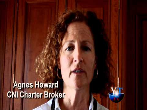 Yachting Today.TV interviews charter broker Agnes Howard from Camper & Nicholson Yachts