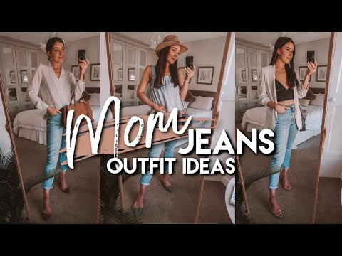 5 EASY WAYS TO STYLE MOM JEANS | SPRING / SUMMER 2019 OUTFIT IDEAS. http://bit.ly/2WDEyq3