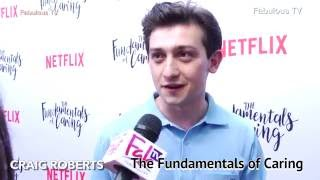 Craig Roberts at The Fundamentals of Caring  premiere on Fabulous TV