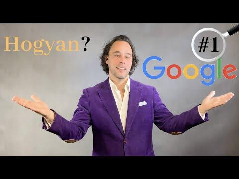 Hogy kerülhet 2020-ban a cikked, videód a Google kereső első helyére?