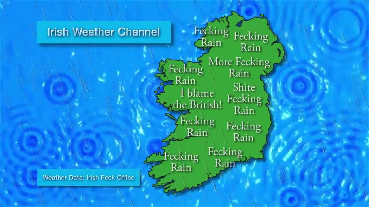 irish weather forecast