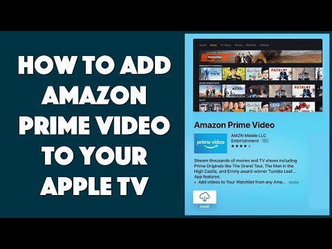 Can you watch amazon prime videos on apple tv