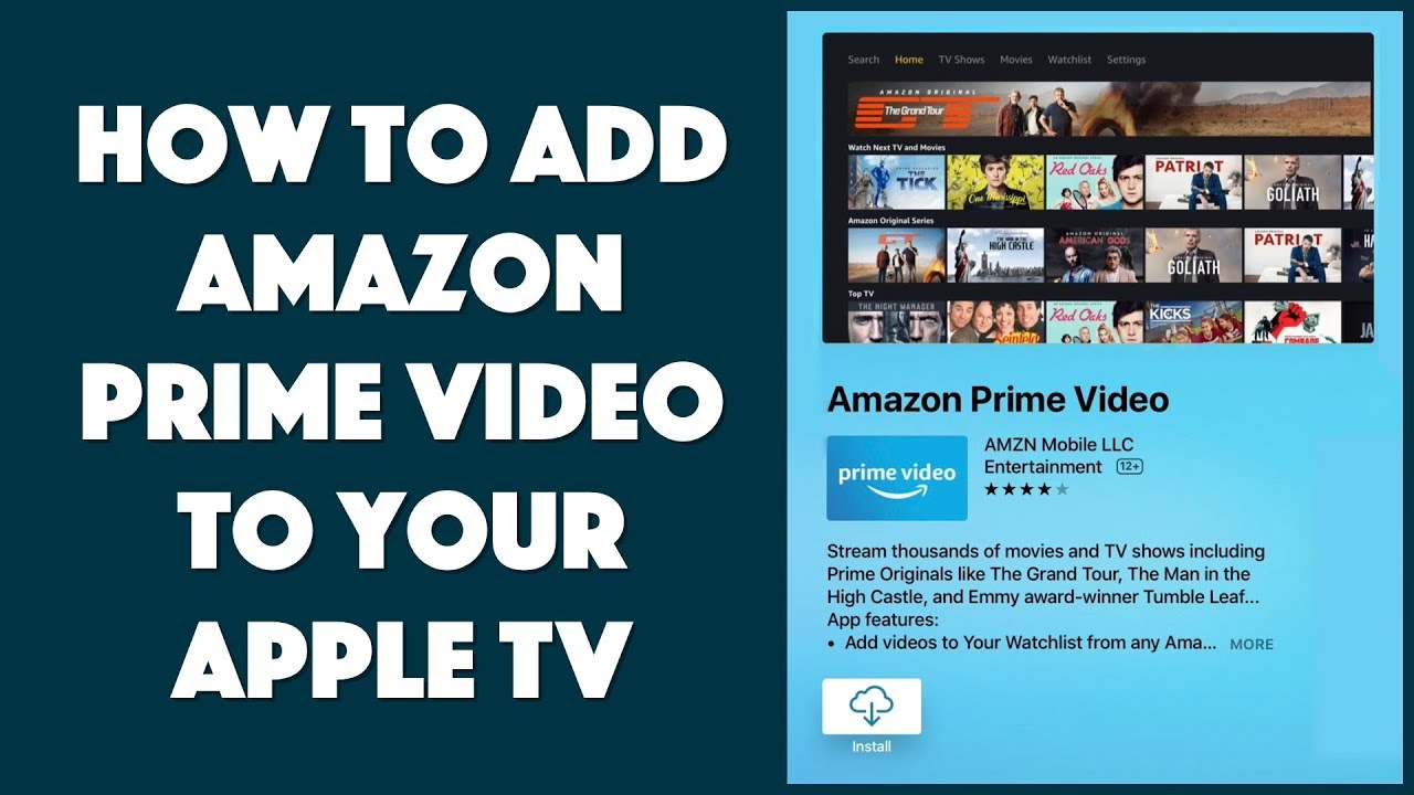 How to Add Amazon Prime Video to Apple TV - It's Easy!