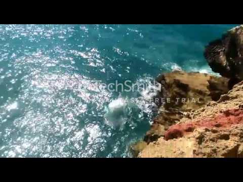Cliff jump Morocco Rabat #Summer