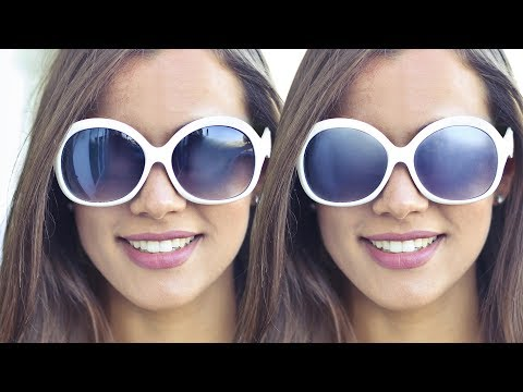 How to Remove Reflections from Sunglasses in Photoshop