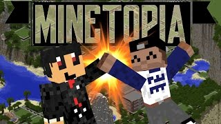MINETOPIA - #72 - SAMEN STAAN WE STERK!! - Minecraft Reallife Server