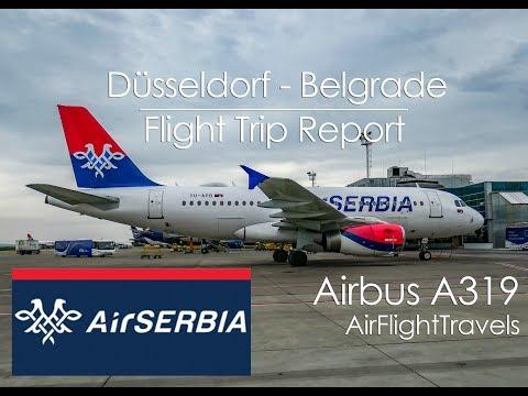 Trip Report: AirSerbia | Düsseldorf - Belgrade | JU321 | Airbus A319 | DUS - BEG