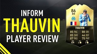 FIFA 17 SIF THAUVIN (86) PLAYER REVIEW