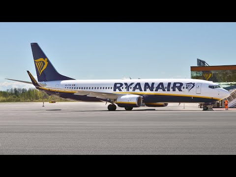 FULL FLIGHT | IBIZA to GLASGOW PRESTWICK | RYANAIR | 737-800 |