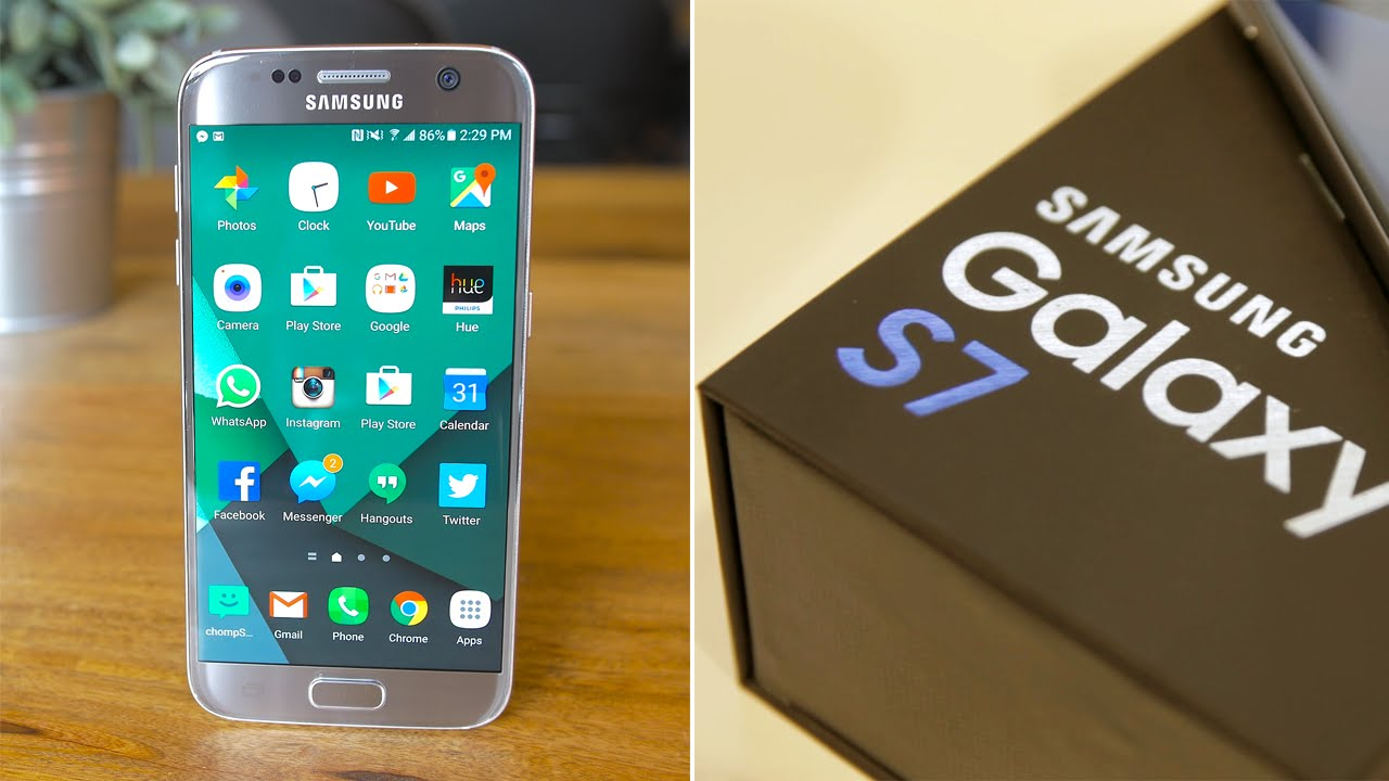 Samsung Galaxy S7 Review: The Second Best Looking Phone on ...
