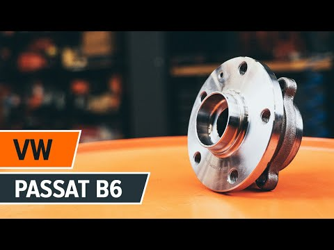 How to replace front wheel bearing on VW PASSAT B6 TUTORIAL | AUTODOC