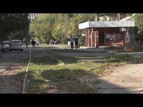 Как в Новочеркасске меняют трамвайные пути