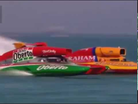 Feb 2013 Qatar Unlimited Hydroplane Race
