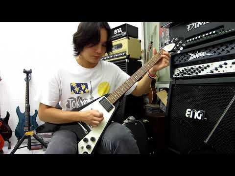 อ โอ๋ รีวิวกีตาร์ Gibson Custom - Kirk Hammett Flying V