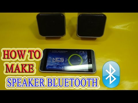 How to make Speaker Bluetooth Simple at home