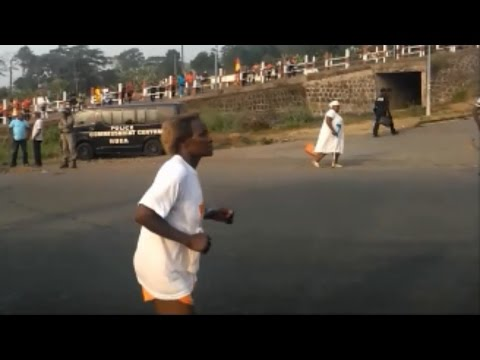 Cameroon Vlog 4// Striving in the strike//OLD AND FIT// MOUNT CAMEROON RACE OF HOPE