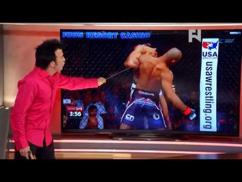 5 Rounds: Robin's Breakdown of Jacare Souza's Takedowns at UFC Fight Night 50