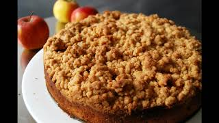 Mothers famous apple crumb cake part one