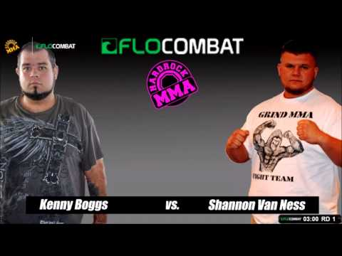 Hardrock MMA 84 Fight 3 Shannon VanNess vs Kenny Boggs Super Heavyweight Ammy