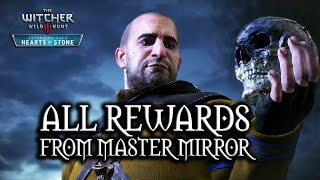 The Witcher 3: Wild Hunt - Hearts of Stone - All rewards from Master Mirror