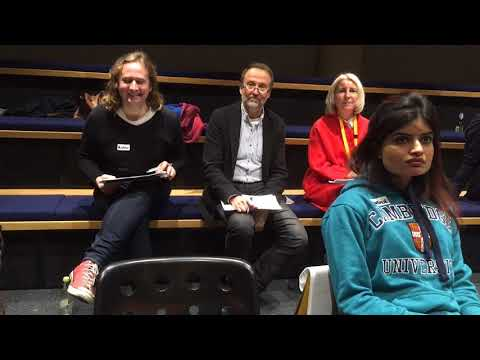 Cambridge Wayfinding Hack - Team Eastpoint & Arthur 25 Nov 2017.
