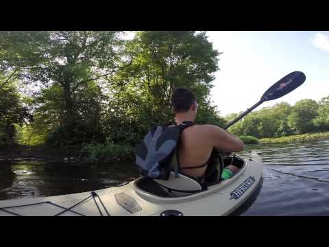 GoPro Kayaking in Lake Enno Jackson Township New Jersey Ocean County