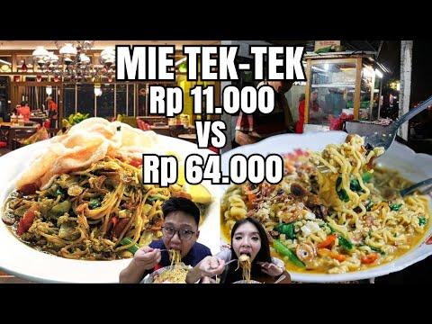 MIE TEK-TEK Rp 11.000 Vs Rp 64.000 !! MAHAL VS MURAH