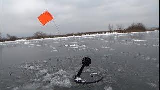 Перший лід 2018-2019. Риболовля на жерлицы. Ловля щуки по першому льоду.