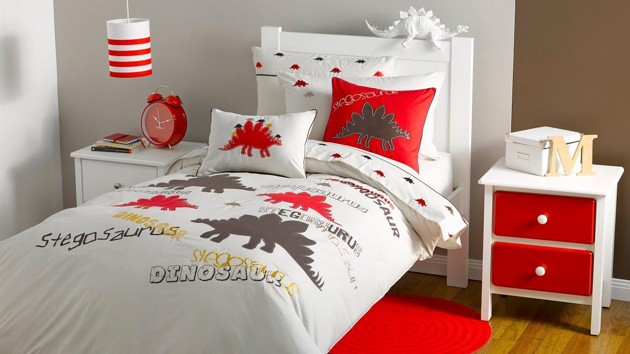 Stegosaurus Dinosaur Bedding Kids Bedding Dreams YouTube