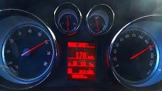 Opel Meriva 1.4 Turbo Acceleration 0-100 Test