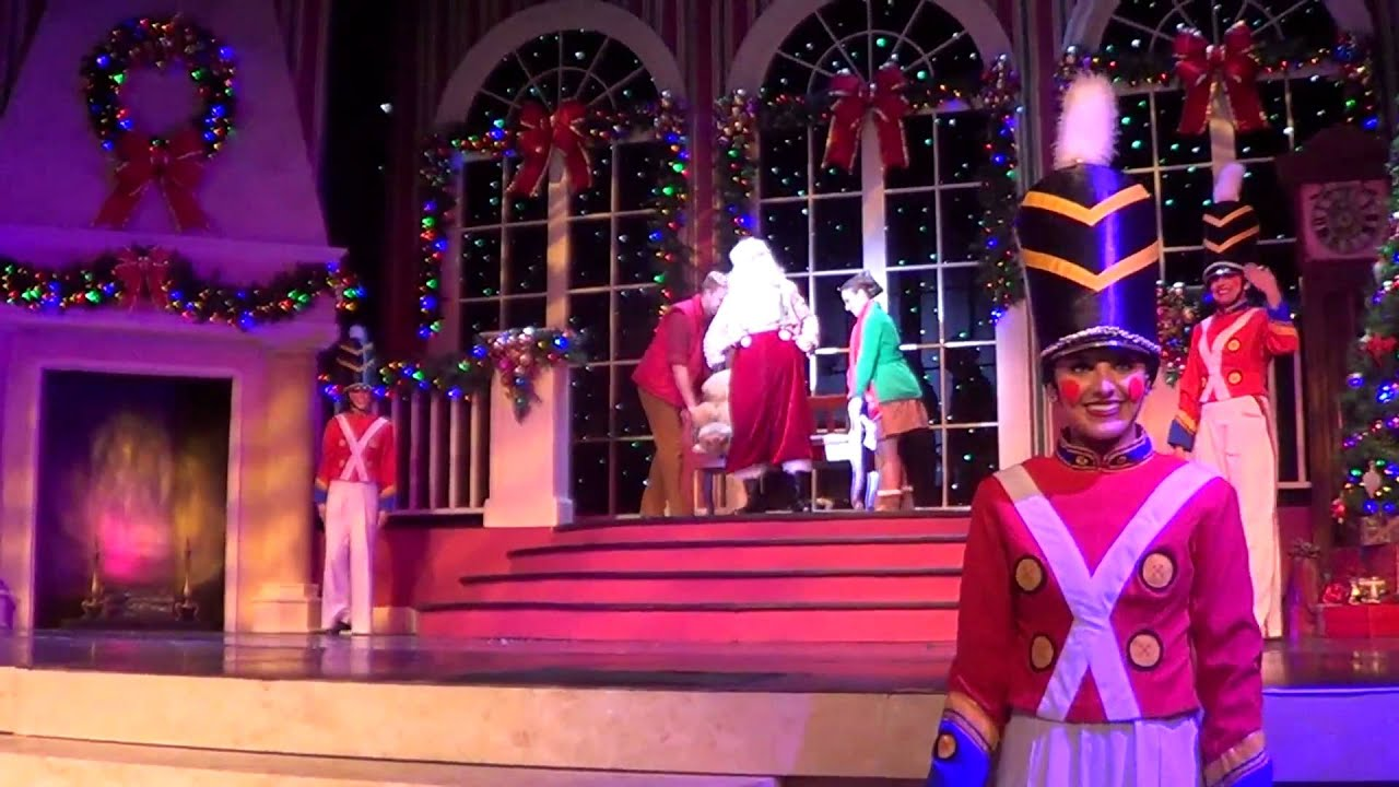 Christmas Celebration Busch Gardens Tampa Full Show In Hd