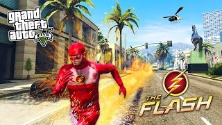One of Typical Gamer's most viewed videos: GTA 5 PC Mods - THE FLASH MOD w/ SUPER SPEED! GTA 5 The Flash Mod Gameplay! (GTA 5 Mods Gameplay)