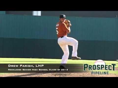 Drew Parish, LHP, Rockledge Senior High School, Pitching Mechanics at 200 FPS