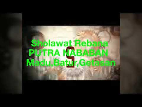 Sholawat rebana PUTRA NABABAN