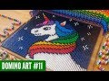 RAINBOW UNICORN MADE FROM 5 500 DOMINOES Domino Art 11 mp3