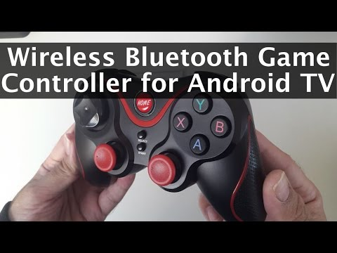 Wireless Bluetooth Game Controller For Android TV By Motionjoy