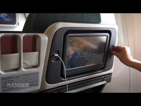 [CX708 BKK-HKG] Cathay Pacific regional BUSINESS class | Bangkok to Hong Kong on A330-300