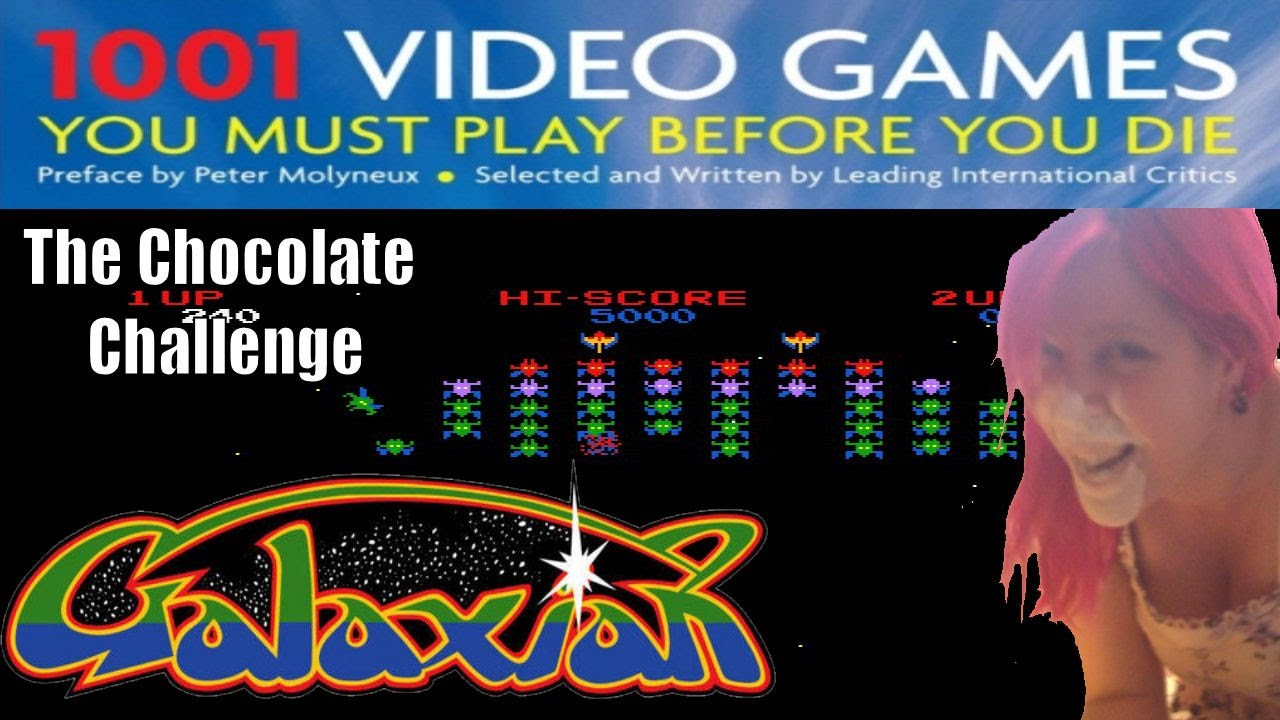 0009 Galaxian THE CHOCOLATE CHALLENGE 1001 Video