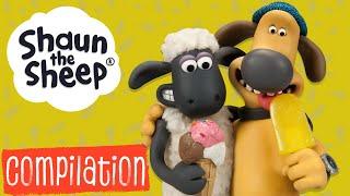 Эпизоды 31-35 сборник S1 | Барашек Шон [Shaun the Sheep S1 Compilation]