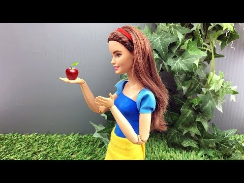 Snow White Barbie Doll Version - The Barbie Story of Snow by GearBest