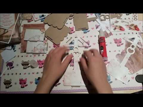 DIY Spardose , Bastelset Action , watch me craft , money box