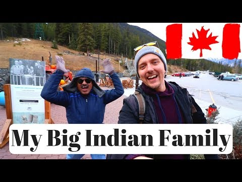 My Big Indian Family In Canada